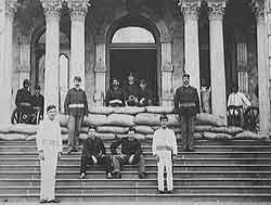 'Iolani Palace under armed occupation